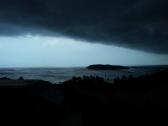 Unwetter auf der Insel
