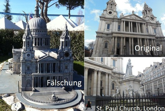 St. Paul Church, London,  Italia in Miniatura